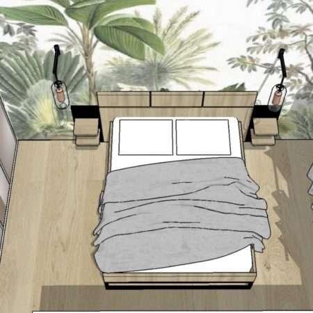 Projet de la Chambre en 3D